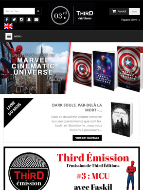 Slide Responsive Third Editions