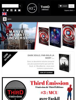 Slide Responsive Third Editions